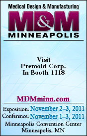Premold Corp exhibiting MD&M  MN 2011