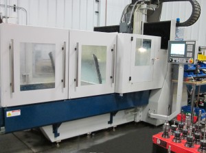 CNC used in toolmaking for RIM parts
