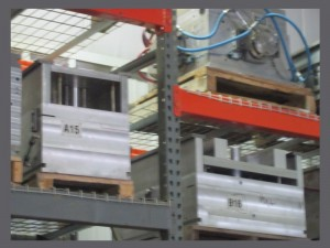 Reaction Injection Molding tooling racks