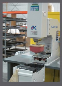 Pad Printer used for decoration low volume parts - RIM