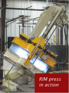 Reaction Injection Molding (RIM) Press